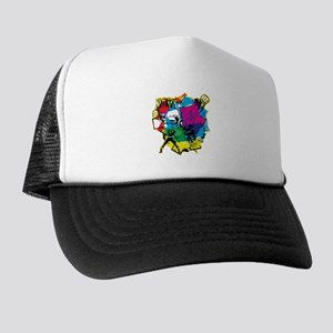 Color Burst Nova Trucker Hat