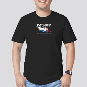 Men's Dark Fitted T-Shirt 2-Sided