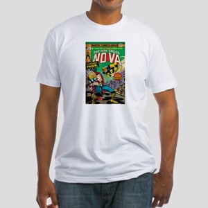 Comic Book Cover Nova 2 Fitted T-Shirt