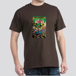 Comic Book Cover Nova 2 Dark T-Shirt