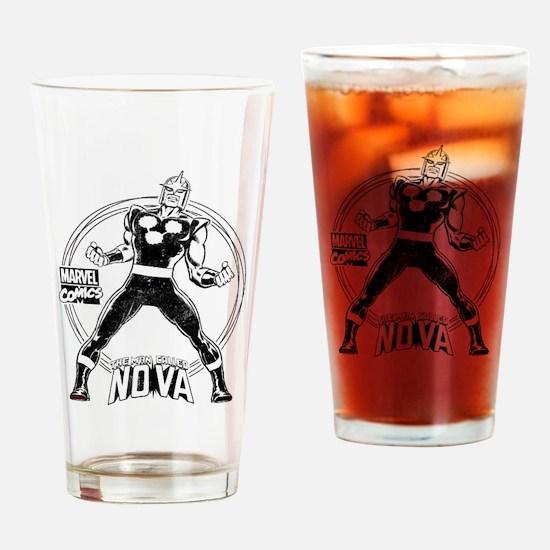 Nova Distress Drinking Glass