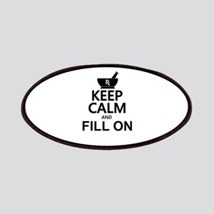 Keep Calm Fill On Patches