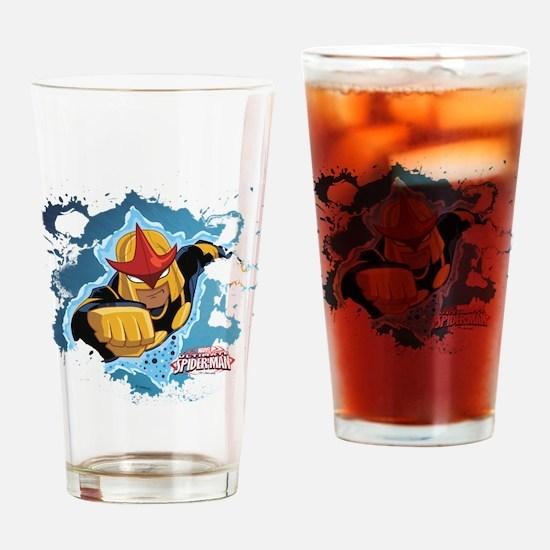 Nova Burst Drinking Glass