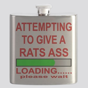 Attempting To Give A Rats Ass Flask