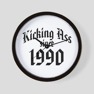 1990 Kicking Ass Wall Clock