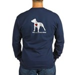 The Pit Stops Here Long Sleeve T-Shirt