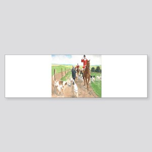 Foxhunt 3 Sticker (Bumper)