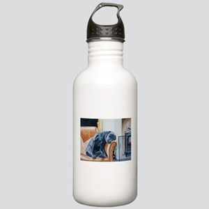 Sleeping Lab Water Bottle