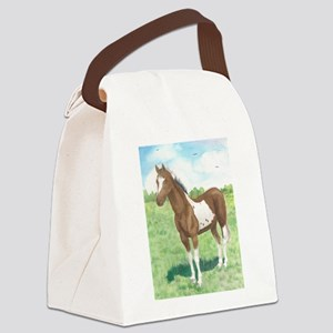 Mom's Pinto Canvas Lunch Bag