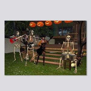 Halloween Band Postcards (Package of 8)