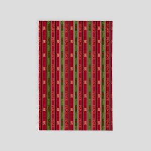 Christmas Stripe_large 4' x 6' Rug