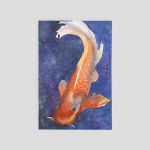 Koi Fish Cool 4' x 6' Rug