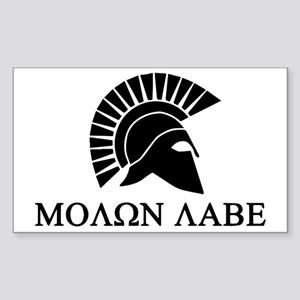 Molon Labe Sticker (Rectangle)