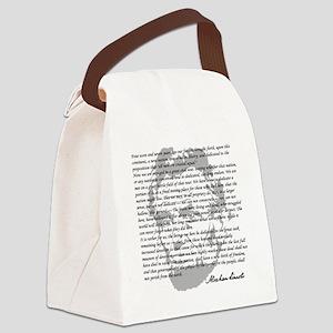 Gettysburg Address Canvas Lunch Bag