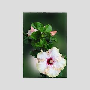 Hibiscus Flower 4' x 6' Rug