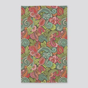 Paisley Cyngalese 3'x5' Area Rug