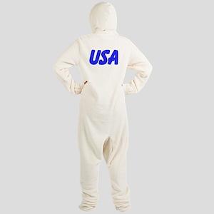 USA Footed Pajamas