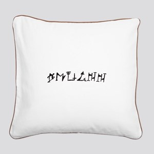 Qhuinn OL Square Canvas Pillow