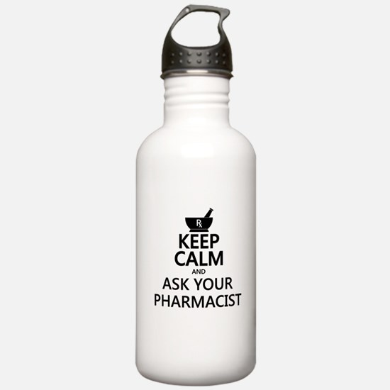 Keep Calm and Ask Your Water Bottle