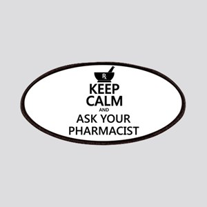 Keep Calm and Ask Your Pharmacist Patches