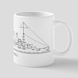 USS Nebraska Mug