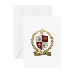 GUIMOND Family Crest Greeting Cards (Pk of 10)