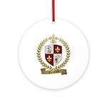 GUIMOND Family Crest Ornament (Round)