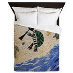 Kokopelli Turtle Queen Duvet