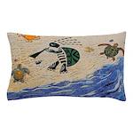 Kokopelli Turtle Pillow Case