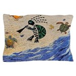Kokopelli Turtle Pillow Case