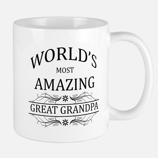 World's Most Amazing Great Grandpa Mug