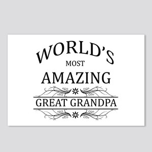 World's Most Amazing Grea Postcards (Package of 8)