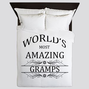 World's Most Amazing Gramps Queen Duvet