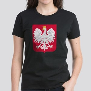 Polish Eagle Coat of Arms Women's Dark T-Shirt