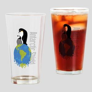 Antarctic Shield Drinking Glass