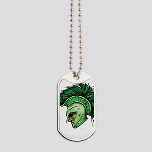 Green Spartan Dog Tags