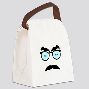 True Blue Canvas Lunch Bag