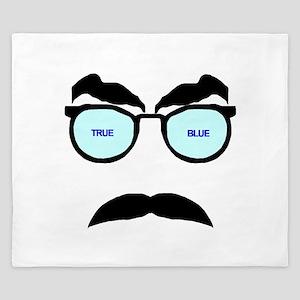 True Blue King Duvet