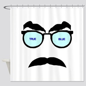 True Blue Shower Curtain
