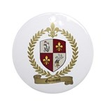 GUIMONT Family Crest Ornament (Round)