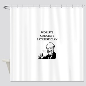 STATS2 Shower Curtain