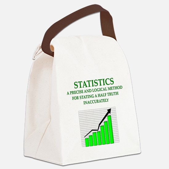 STATS Canvas Lunch Bag