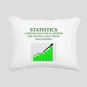 STATS Rectangular Canvas Pillow
