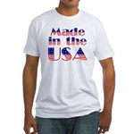 Made in the USA Fitted T-Shirt