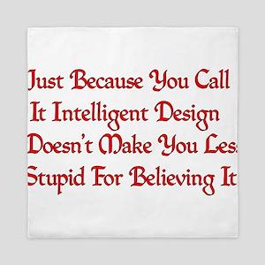Not So Smart Design Queen Duvet
