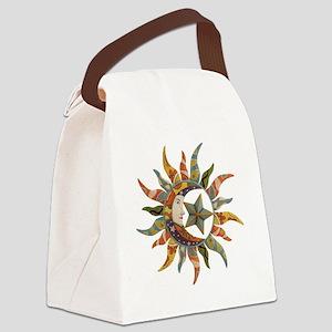 Cosmic Clown Canvas Lunch Bag