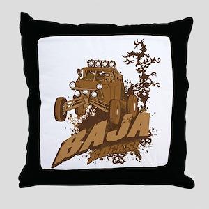 Baja Rocks Throw Pillow
