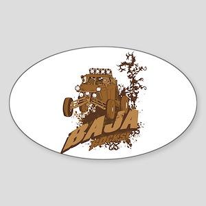 Baja Rocks Sticker (Oval)