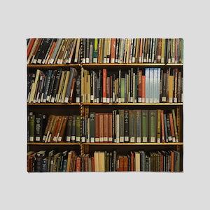 Bookshelves Throw Blanket