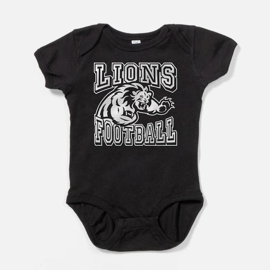 Lions Football Baby Bodysuit